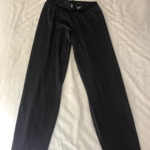 Patagonia capilene dark grey leggings